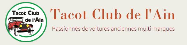 Tacot Club de l'Ain